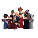 Marionnettes à gaines - Loup