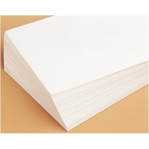 Feuilles blanches grand format - 90 g.
