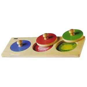 Holzsteckspiel: Babycolor