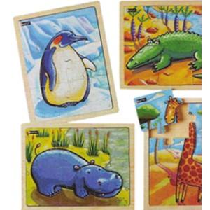 Puzzles bois - Les animaux