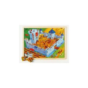 Puzzle grande scène - La vie au château