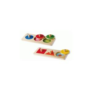 Angebot im Doppelpack: Steckspiele Babycolor + Babyformen