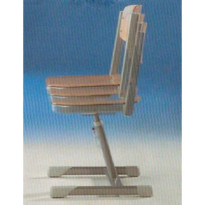 Aluminium Stuhl