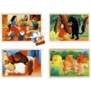 Puzzles bois - les contes 2