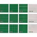 Lignage sur tableau surface à choix: blanc ou vert