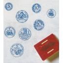 Timbres pièces de monnaie