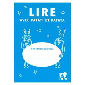Lire avec Patati et Patata - réassort de 5 cahiers de l'élève