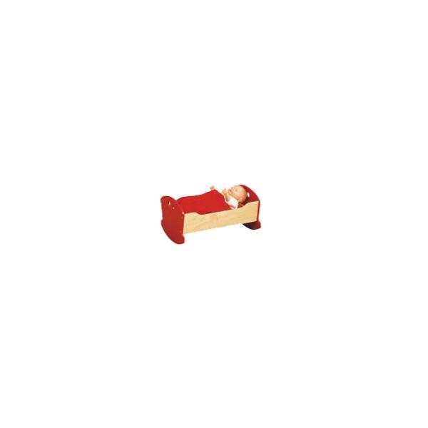La chambre rouge - Berceau de poupée - Sola Didact