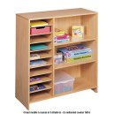 Grand meuble à cases et à étagères