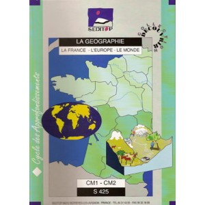Géographie - SF425-4250 (6ème primaire)