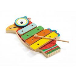 Cymbale et xylophone