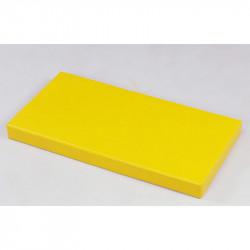 Matte mit PVC-Überzug: gelb