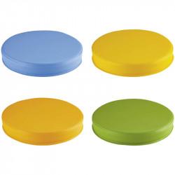 Galettes multicolores