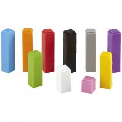 Cubes réglettes