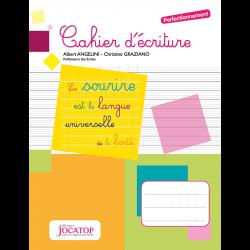 Cahier d'écriture -...