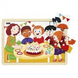 Puzzles bois - l'anniversaire