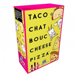 Taco chat bouc fromage pizza