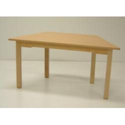 Table bois trapèze