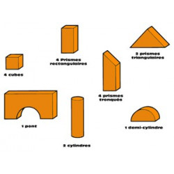 Architek - Assortiment pions