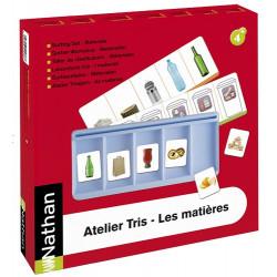 Atelier Tris - Les matières