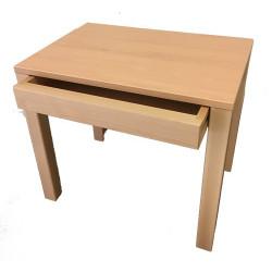 Pupitre en bois avec un tiroir