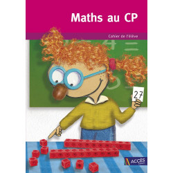 Maths au CP - Guide de l'élève - Lot de 5