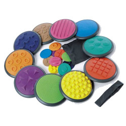 Set de 20 disques tactiles