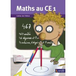 Maths au CE1 - Cahier de l'élève - Lot de 5