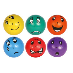 6 balles émotions, diam. 20 cm