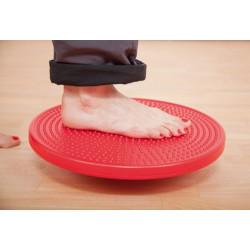 Planche d'équilibre avec surface picots