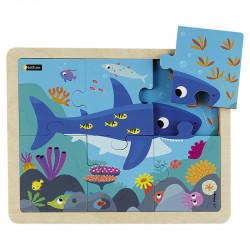 Puzzle 6 pièces - Le requin