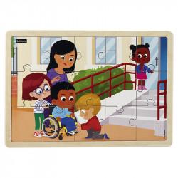 Puzzle 15 pièces - Le handicap