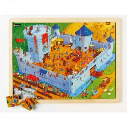Puzzle mit vielen Details:...