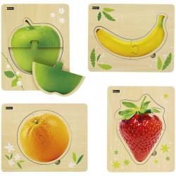 Puzzles - Mes premiers fruits