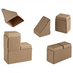 Grandes briques carton