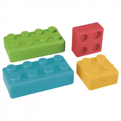 Briques plastique géantes