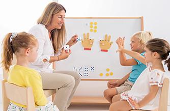 Mathématiques sous forme ludique pour enfants
